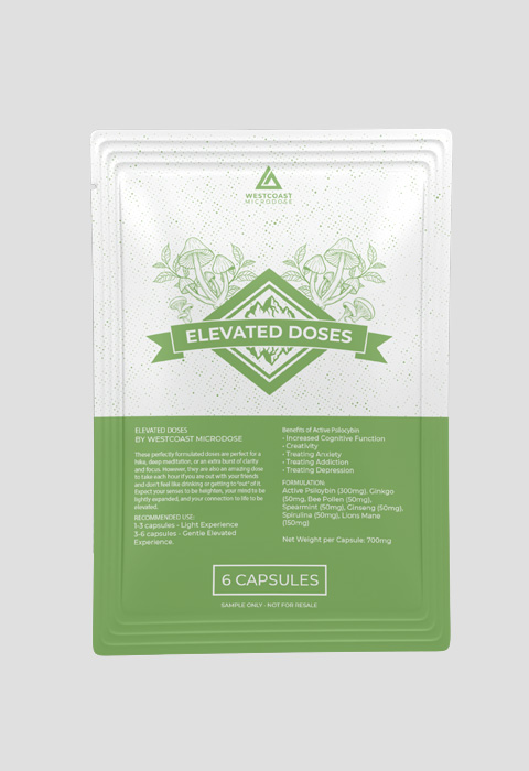Buy West Coast Micro Dose – Elevated Doses 6 Capsules online Canada