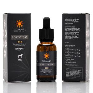 Buy Fortify Plus Nutraceutical Pet Oil (500mg) online Canada