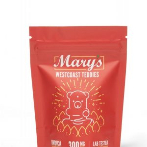 Buy Mary's Medibles Westcoast Teddies Extreme Strength 300mg Indica online Canada