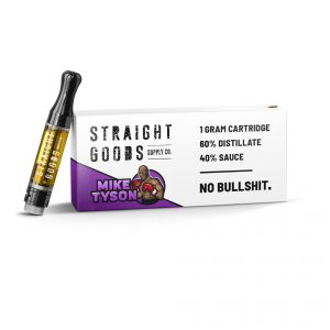 Buy Straight Goods – Mike Tyson Sauce Carts (Indica) online Canada