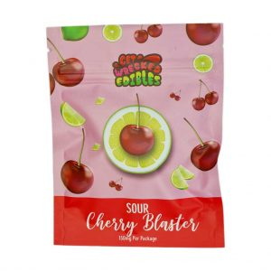 Buy Get Wrecked Edibles – Sour Cherry Blaster 150mg THC online Canada