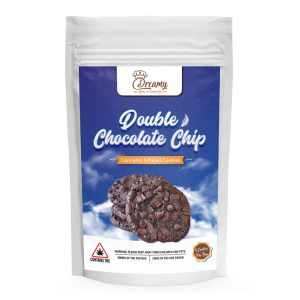 Buy Dreamy Delite Double Chocolate Chip Canna Cookies 200mg THC online Canada