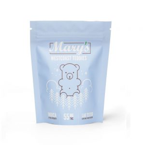 Buy Mary's Medibles Westcoast Teddies Extra Strength 55mg Indica online Canada