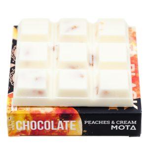 Buy MOTA – Peaches and Cream White Chocolate Cubes online Canada