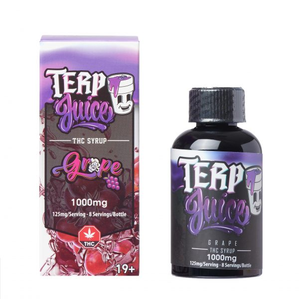Buy Terp Juice Syrup – Grape (THC) online Canada