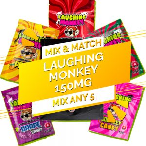 Buy Laughing Monkey – Mix and Match 5 THC 150mg online Canada