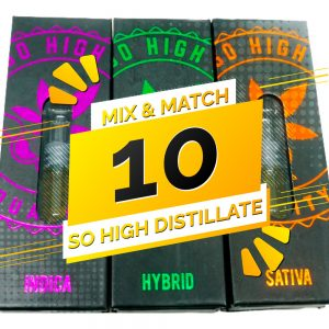 Buy So High Extracts THC Distillate Mix and Match – 10 online Canada