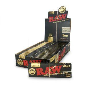 Buy Raw Hemp Black Rolling Paper online Canada