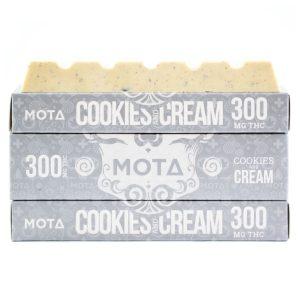 Buy MOTA – Cookies and Cream Chocolate Bar online Canada