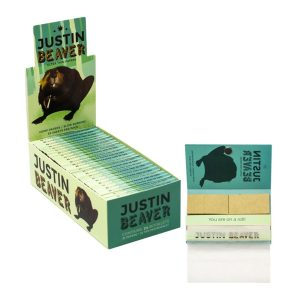 Buy Justin Beaver Rolling Hemp Papers Slow Burning online Canada