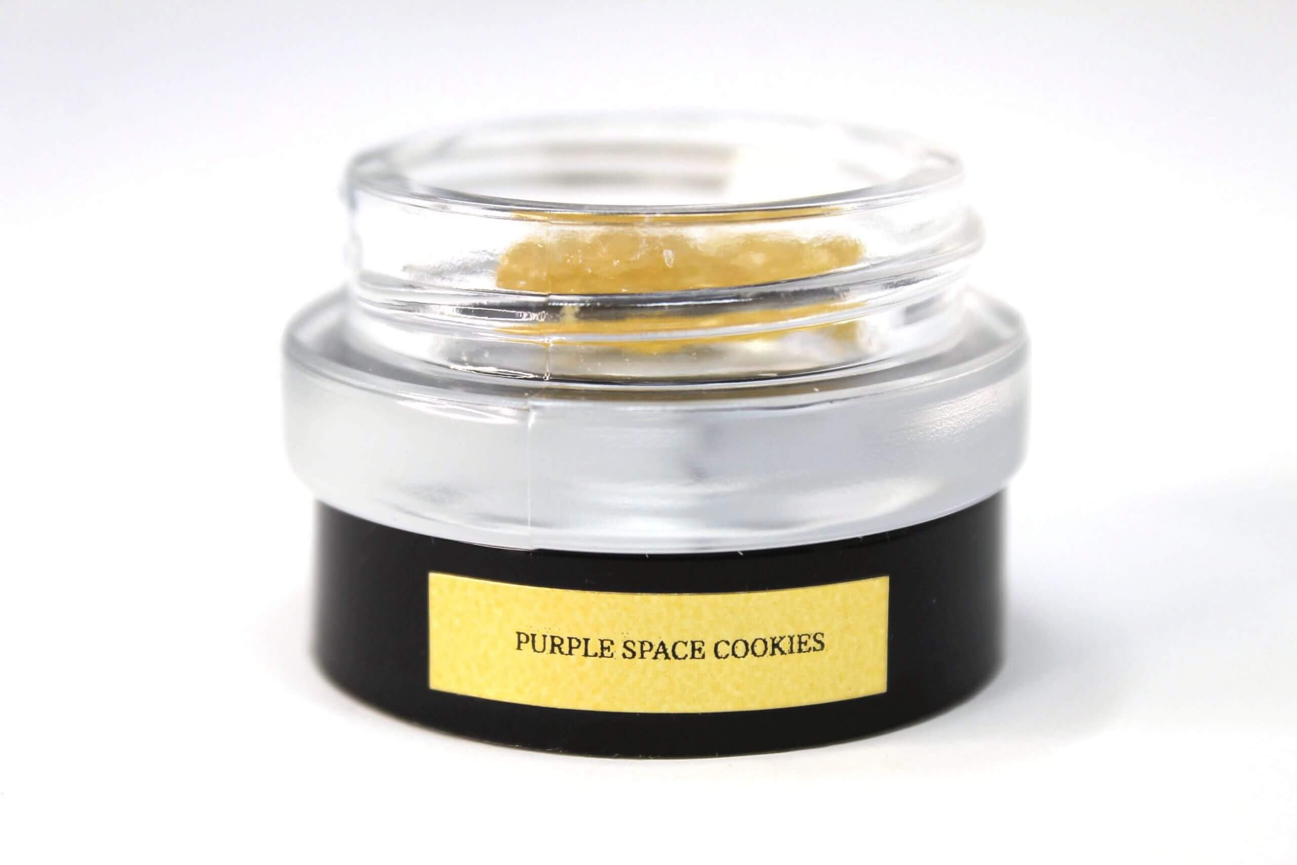 purple space cookies