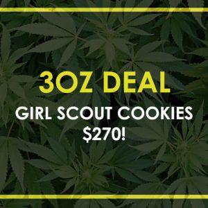 oz cannabis deal