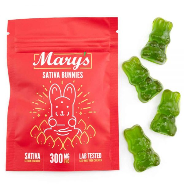 Buy MARY'S MEDIBLES SATIVA BUNNIES (300MG THC EXTREME STRENGTH) online Canada