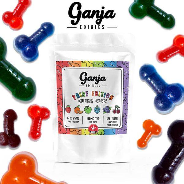 Buy Ganja Cocks – Pride Edition (150MG) online Canada