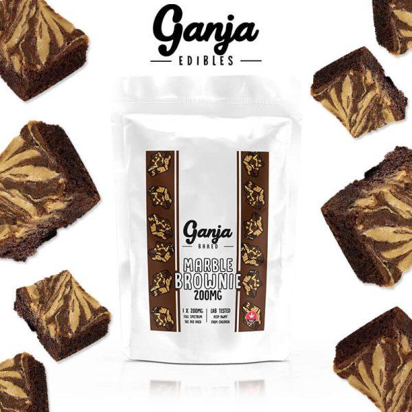 Buy Ganja Baked – Marble Chocolate (200MG) online Canada