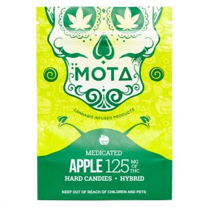 Buy MOTA – Apple Hard Candies (125MG) online Canada