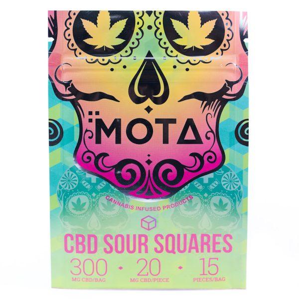 Buy MOTA – CBD Sour Squares (300MG) online Canada