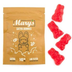 Buy Mary's Sativa Bunnies (140MG THC Triple Strength) online Canada