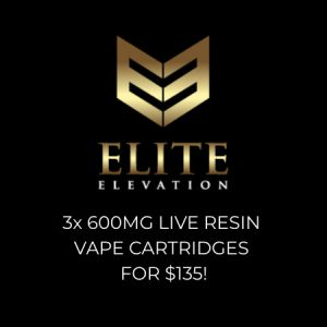 Buy ELITE ELEVATION – LIVE RESIN CART MIXER 600MG online Canada