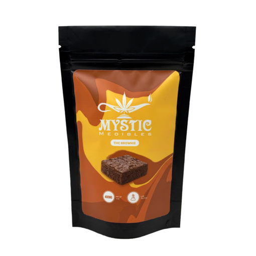 Buy Mystic Medibles THC Brownie 200-400MG online Canada