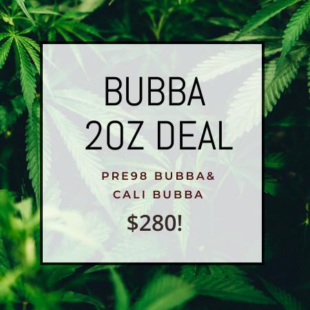 Buy 2OZ BUBBA DEAL online Canada