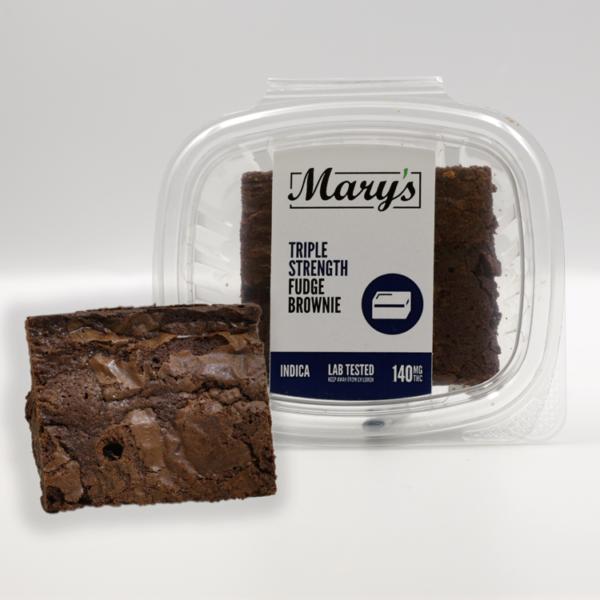 Buy Mary's Medible Fudge Brownies – 55MG online Canada