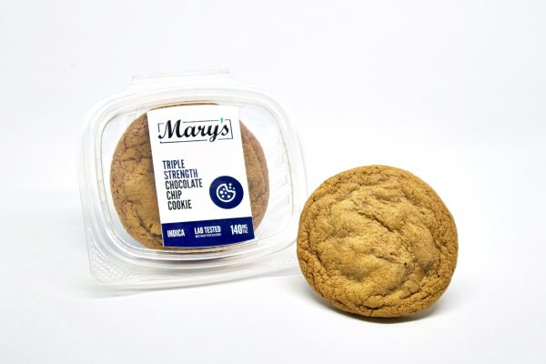 Buy Mary's Medibles – Triple Strength Chocolate Chip Cookie (140MG) SATIVA online Canada