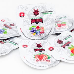 Buy THE GREEN SAMURAI GUMMIES – VARIOUS FLAVORS (150MG THC) online Canada