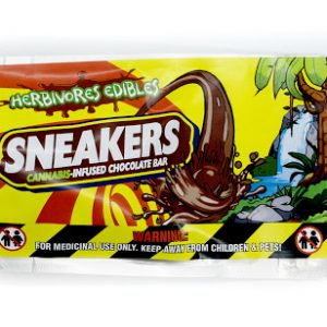 Buy HERBIVORE EDIBLES – Sneakers (100MG THC) online Canada