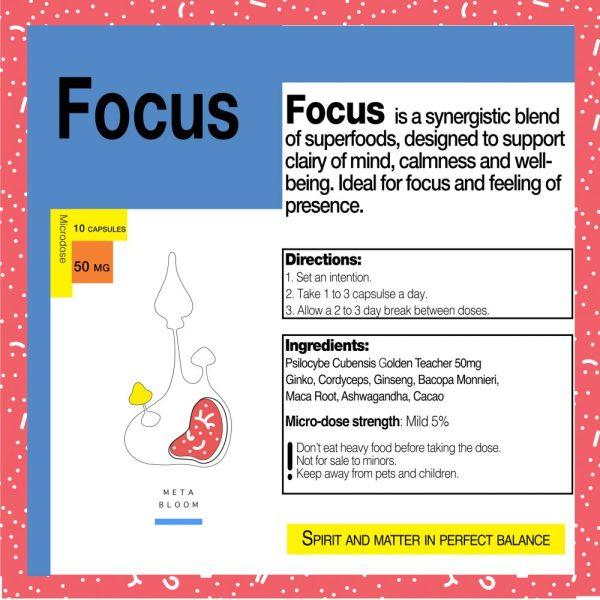Buy MICRODOSE: FOCUS online Canada
