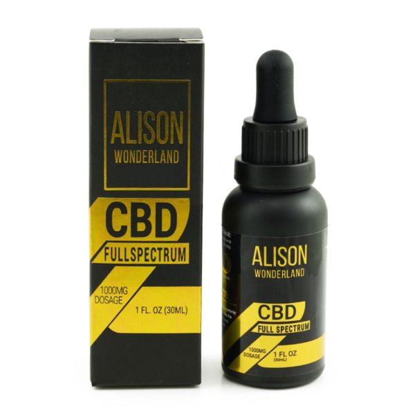 Buy Alison Wonderland 1000mg Full Spectrum CBD online Canada