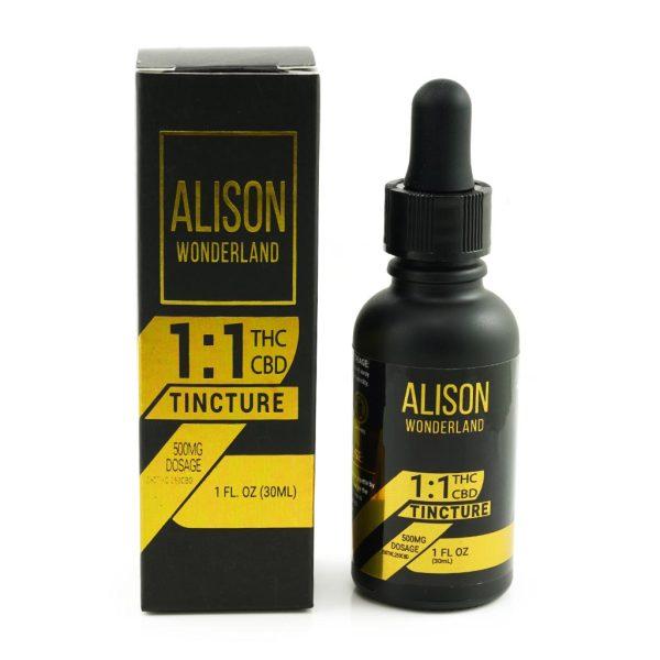 Buy Alison Wonderland 500mg 1:1 THC/CBD online Canada