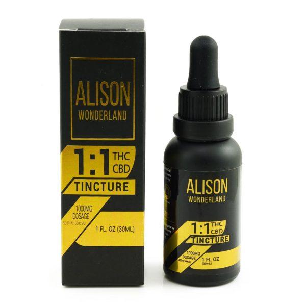 Buy Alison Wonderland 1000mg 1:1 THC/CBD online Canada