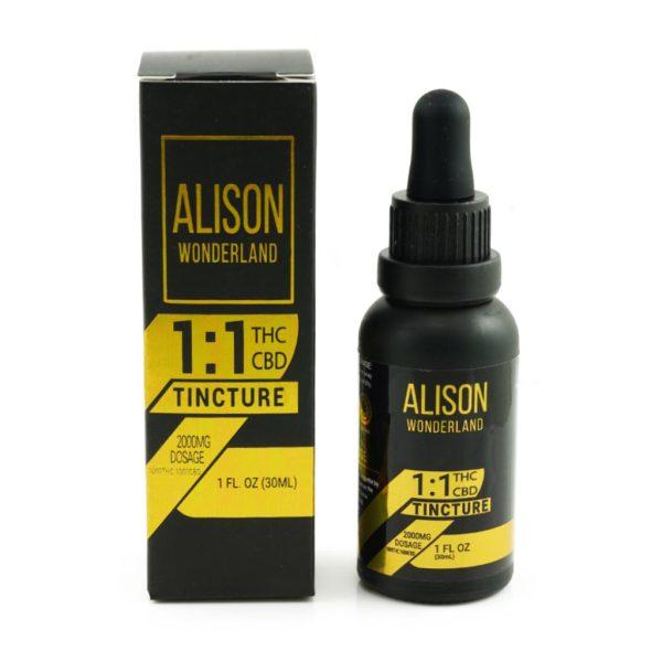 Buy Alison Wonderland 2000mg 1:1 THC/CBD online Canada