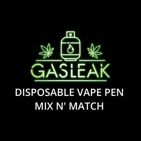 Buy GASLEAK Disposable Vape Pens Mix & Match 3 THC 0.5ML online Canada