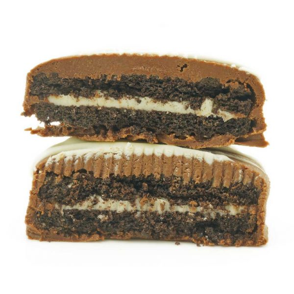 Buy Get Wrecked Edibles – Chocolate Dipped Oreo Cookies 300mg THC (Indica) online Canada