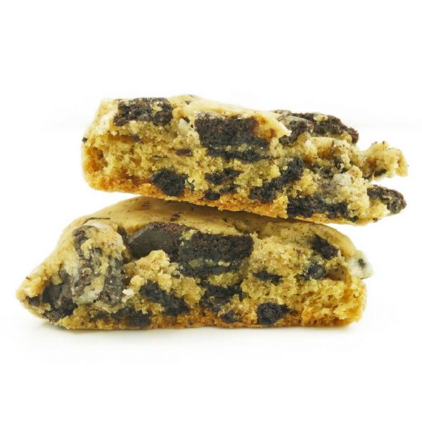 Buy Get Wrecked Edibles – Cookies and Cream Cookie 300mg THC (Indica) online Canada