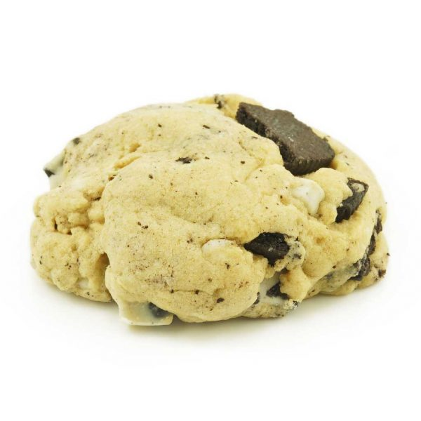 Buy Get Wrecked Edibles – Cookies and Cream Cookie 50mg THC (Indica) online Canada