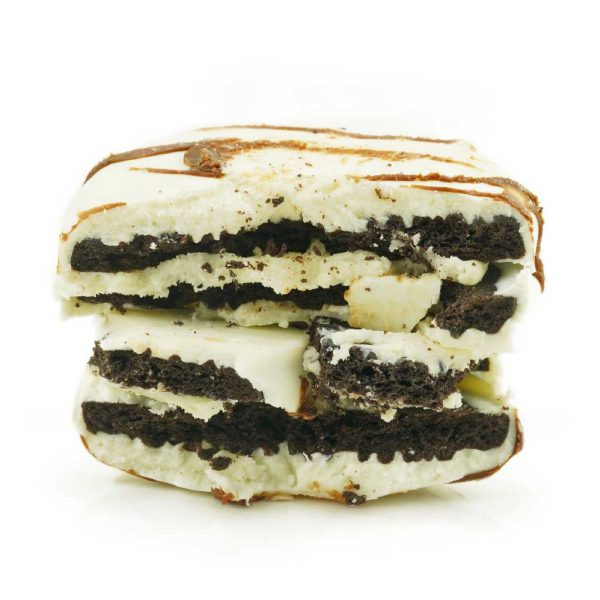 Buy Get Wrecked Edibles – White Chocolate Dipped Oreo Cookies 100mg THC (Indica) online Canada