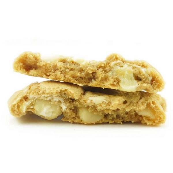 Buy Get Wrecked Edibles – White Chocolate Macadamia Nut Cookie 50mg THC (Indica) online Canada