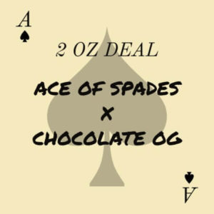 Buy 2 OZ ACE OF SPADES X CHOCOLATE OG DEAL online Canada