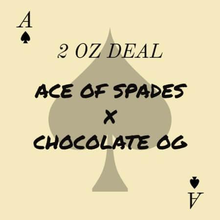 Buy 2 OZ ACE OF SPADES X CHOCOLATE OG DEAL online Canada
