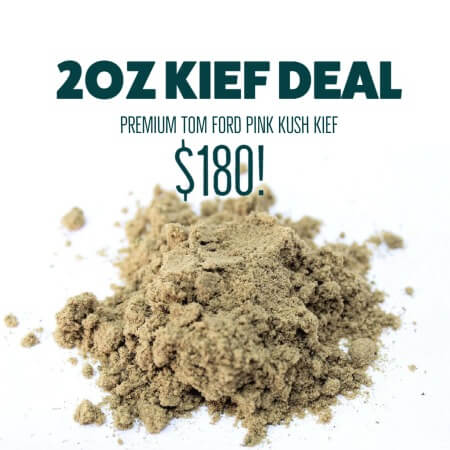 Buy 2OZ KIEF DEAL online Canada