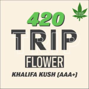 Buy 420 TRIP FLOWER – KHALIFA KUSH (AAA+) online Canada