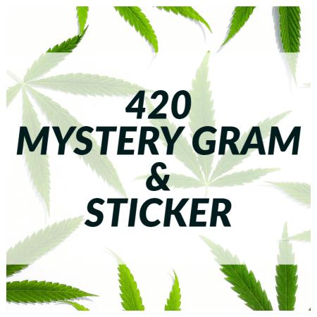 Buy 420 MYSTERY GRAM & STICKER online Canada