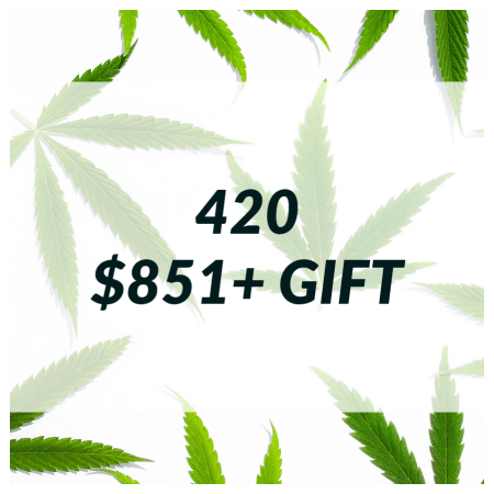 Buy 420 SALE – $851+ GIFT (INCLUDES ROLLING TRAY) online Canada
