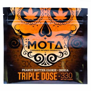 Buy MOTA Triple Dose Peanut Butter Indica Cookie (330MG THC) online Canada