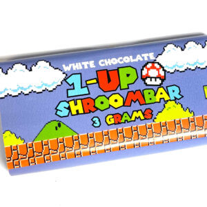 Buy 1-UP SHROOMBAR (3000MG) – WHITE CHOCOLATE online Canada