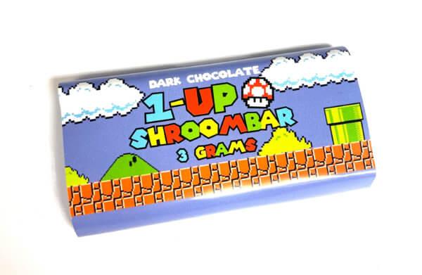 Buy 1-UP SHROOMBAR (3000MG) – DARK CHOCOLATE online Canada