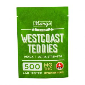 Buy Mary's Medibles Westcoast Teddies Ultra Strength 500mg Indica online Canada
